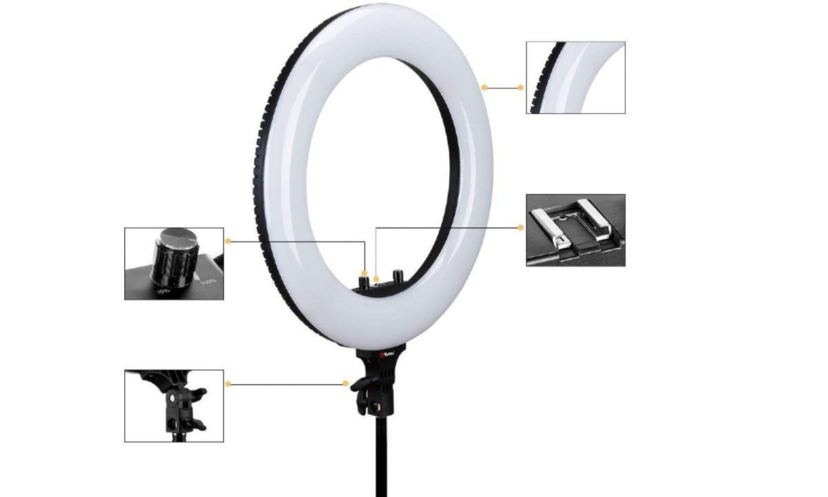 RING LIGHT COMPLETO R48b GREIKA