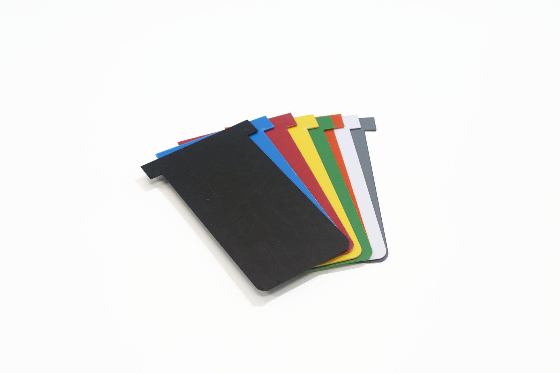 Cartão Kanban T PVC