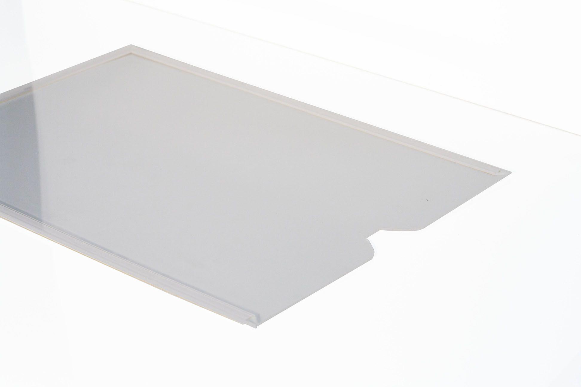 Display Acrílico A3 Retrato Fixação Adesiva