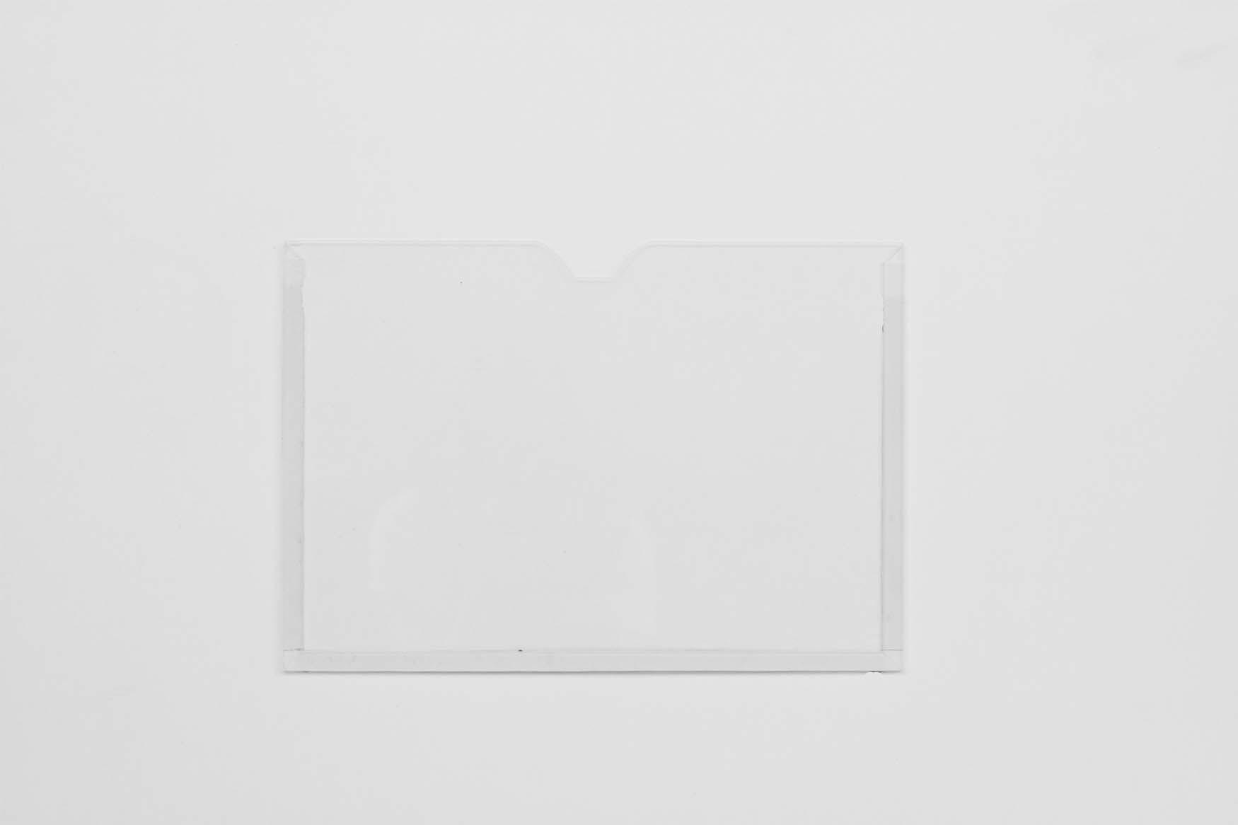 Display Acrílico Cristal A3 Paisagem Fixação Adesiva