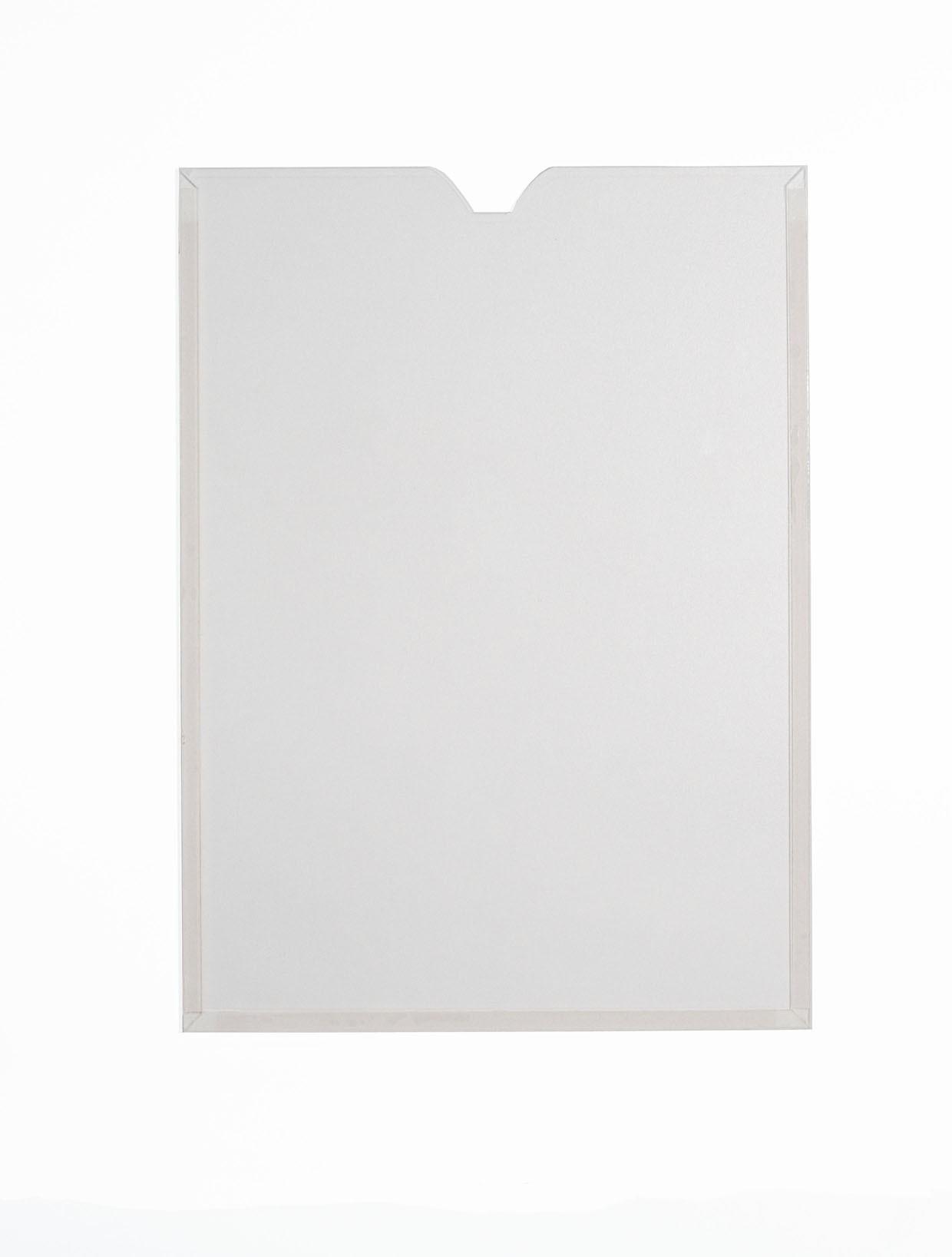 Display Acrílico Cristal A3 Retrato Fixação Adesiva