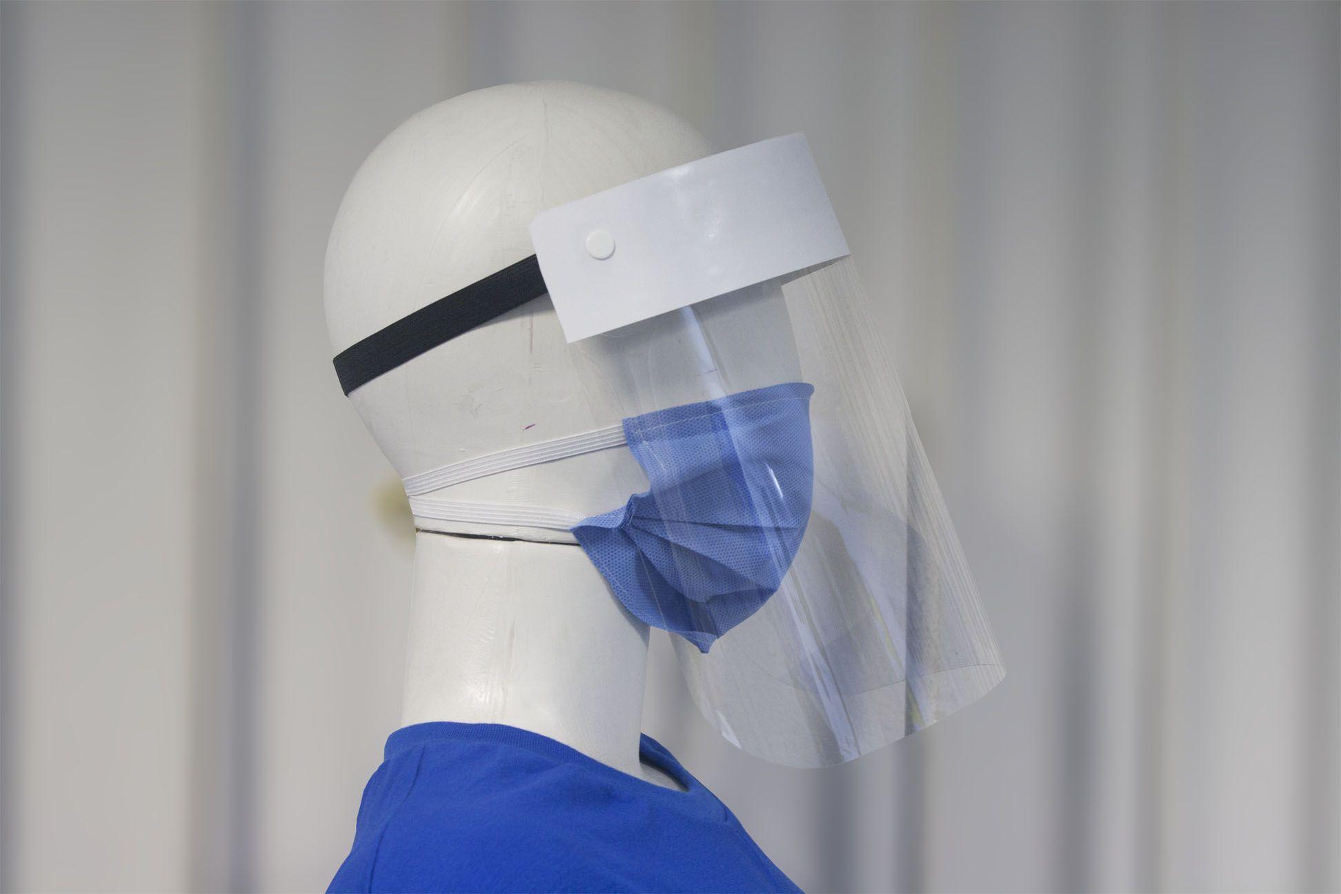 Máscara de Proteção Facial - 05 unidades