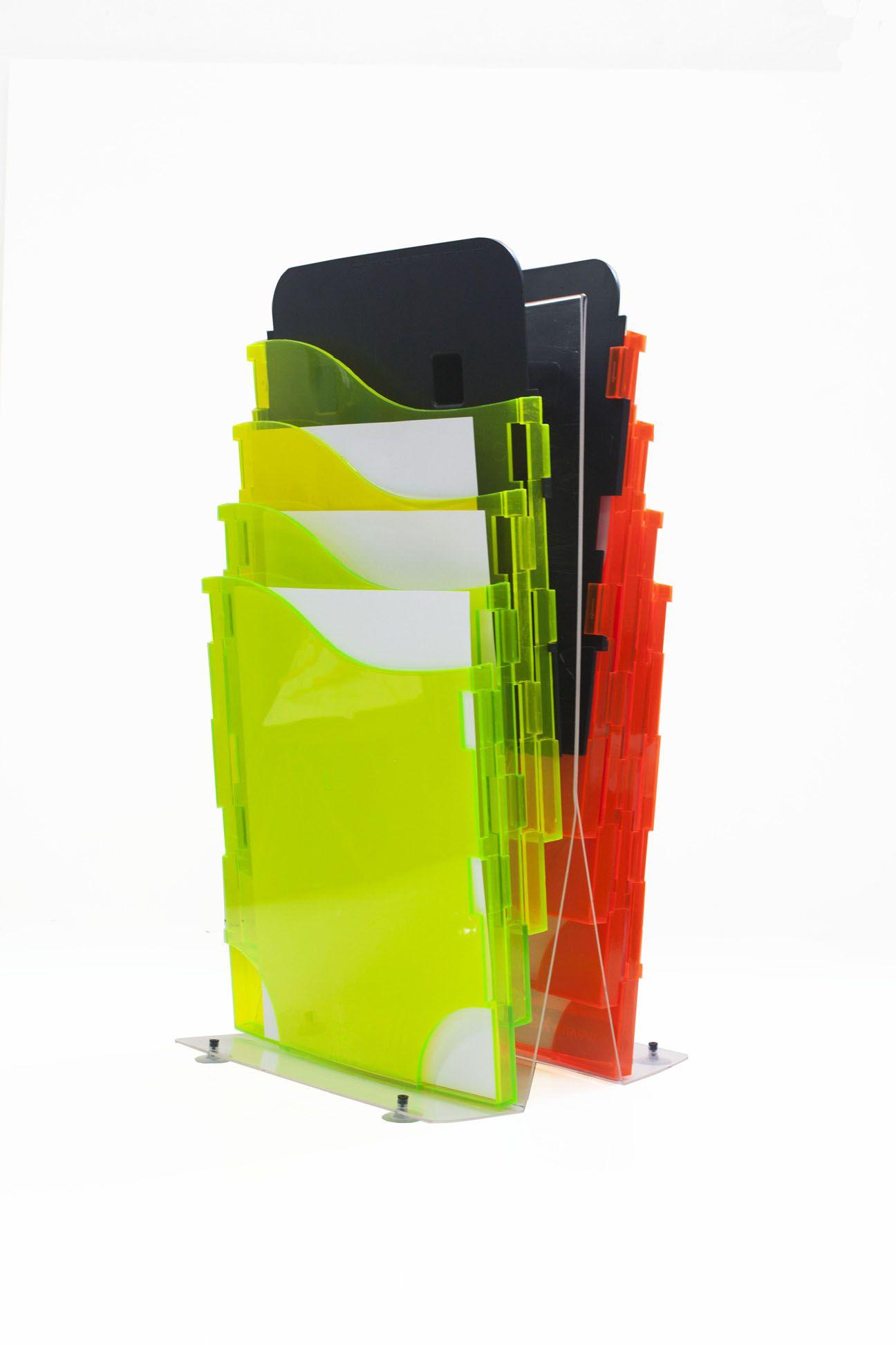 Suporte de acrílico com ventosas de mesa para Flexwave