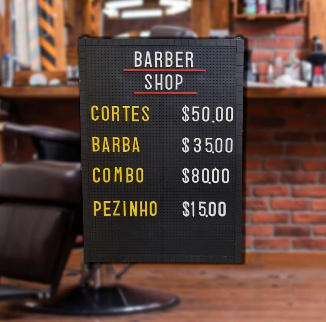 Tabela de Preço Furadinho - 45x30