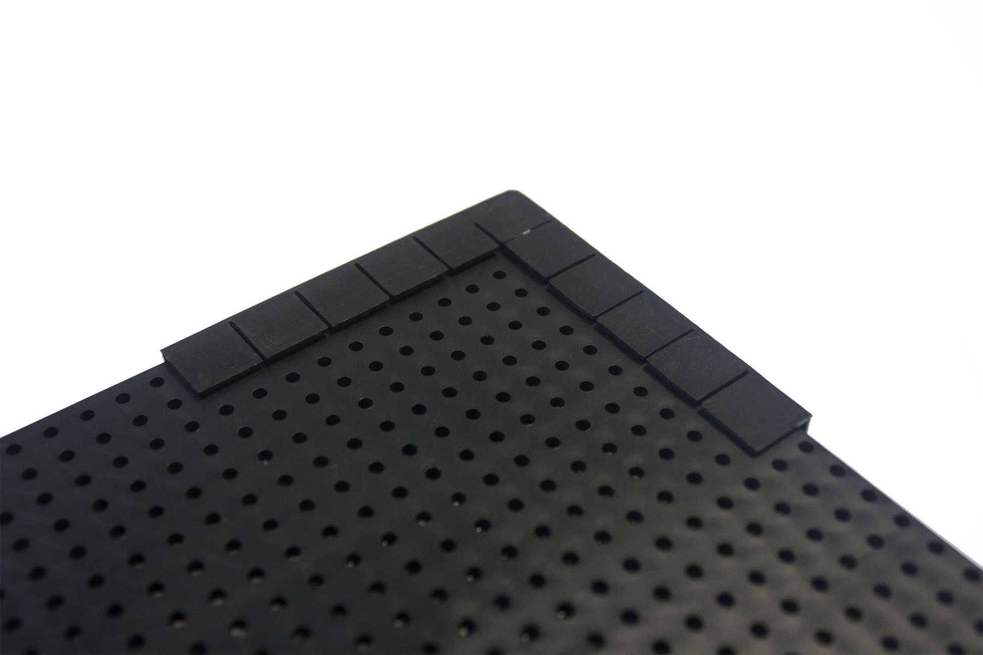 Tabela de Preço Furadinho - 90x60 Moldura Plástico