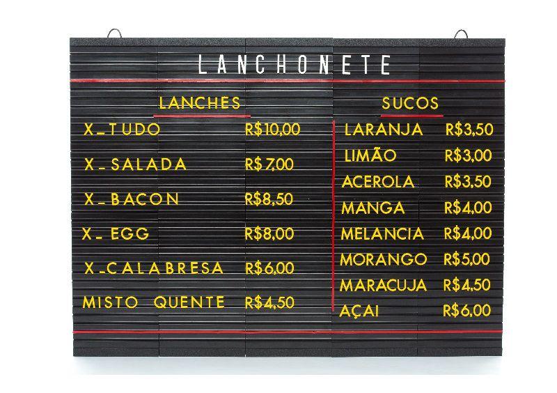 Tabela de Preços Plus 51x70