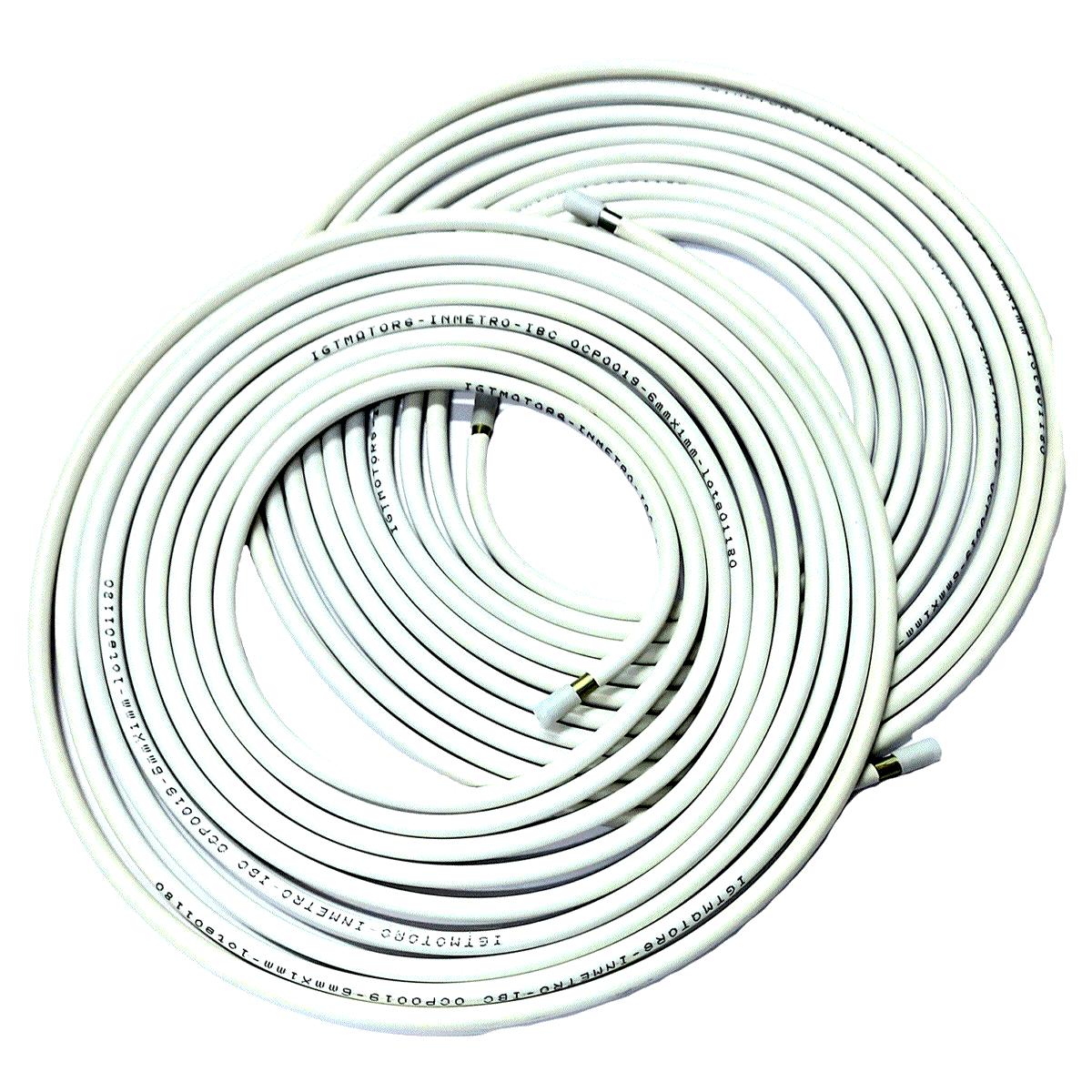 02 Tubos de Alta GNV Aço Revestido 6m Aprovado INMETRO