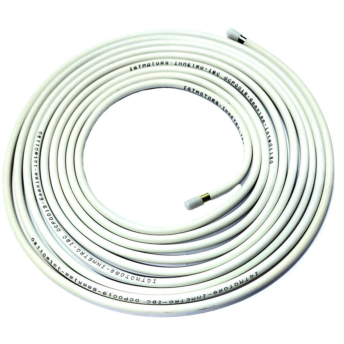 04 Tubos de Alta GNV Aço Revestido 6m INMETRO Revenda