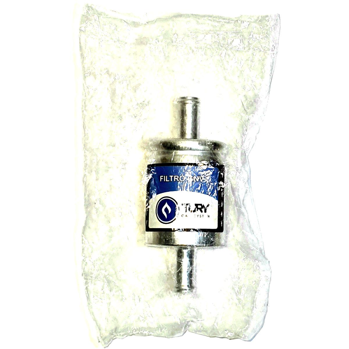10 Filtros GNV 12 mm TURY GAS 5ª e 6ª geração STAG EMER OMVL e outros
