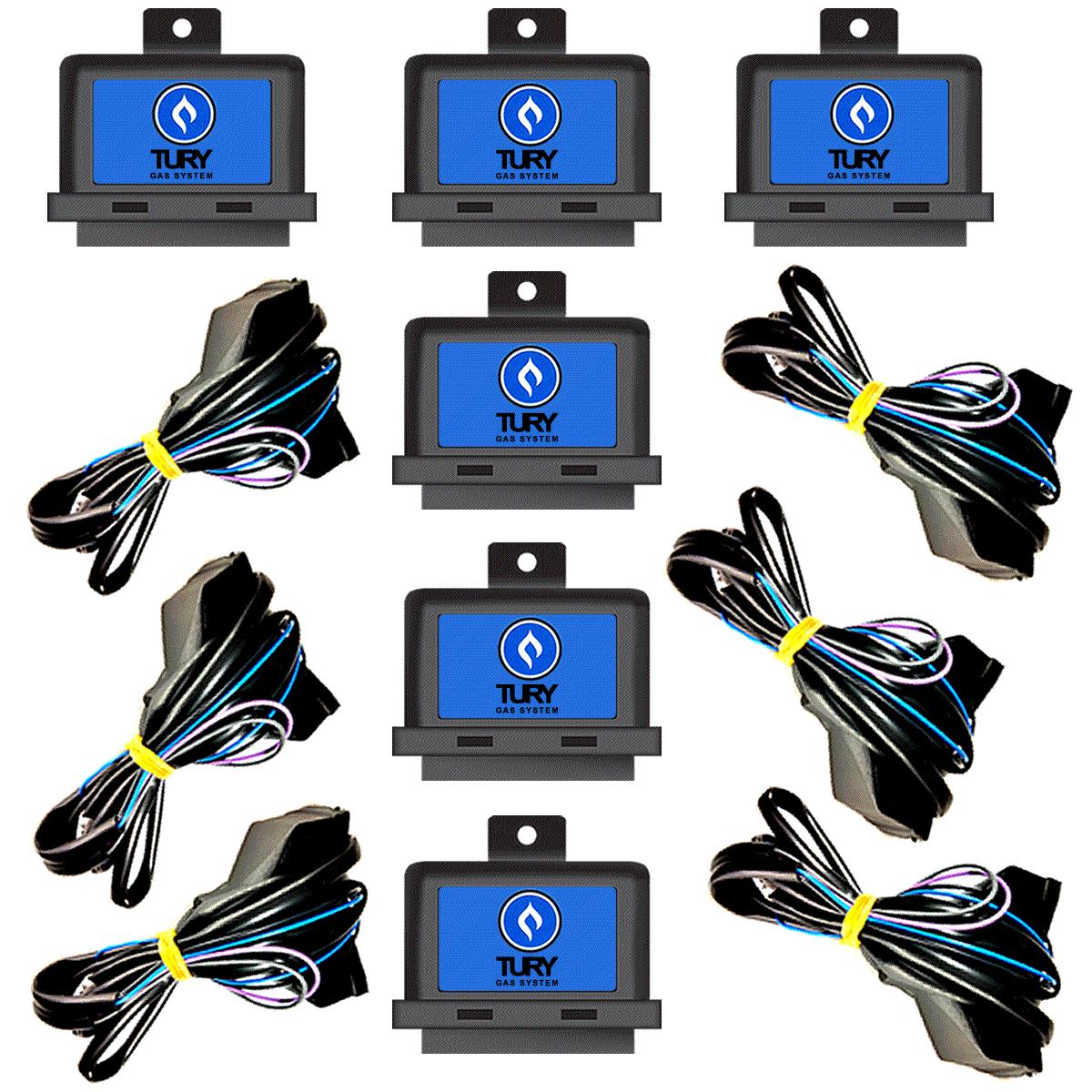08 Simuladores de Sonda Flex Duplo TURY T68 Atacado