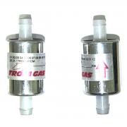 2 Filtros TROIAGAS 5ª e 6ª geração GNV protege bicos maioria dos kits