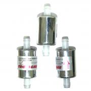 3 Filtros GNV 14 mm TROIAGAS 5ª e 6ª geração protege bicos Landi Renzo e Lovato
