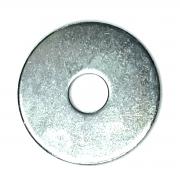 Arruela 3/8 Zincada 38x2mm parafuso 10mm Lanterneiro Funileiro