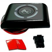 Botão STAG LED-401 GNV 5ª e 6ª geração TURY GAS Qmax ou Dpi