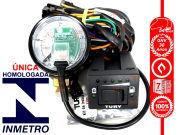 Chave Comutadora Nova Manômetro e Chicote T1000 A TURY GAS