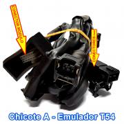 Chicote do Emulador de 4 Bicos TURY T54 ou IGT E40