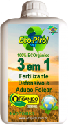 Ecopirol 3 em 1 - Defensivo, Fertilizante e Adubo Folear
