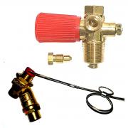 Kit 2 Válvulas ITA Abastecimento Externo e Cilindro