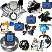Kit 3ª Geração GNV 6 Cilindros Lovato Super Variador Válvulas Minuterias