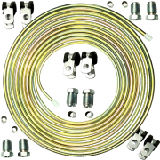 Kit Tubo de Alta GNV e 4 Conexões Fixações e Qualquer Geração