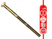 Parafuso Sextavado 10x160 mm 8.8 MA Rosca 100mm