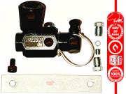 Válvula de Abastecimento GNV Préssor Aço Aprovada INMETRO 2 Niples Anilhas