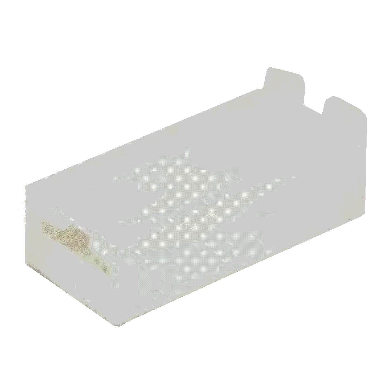 20 Capas Terminal Fêmea com Trava 6,3mm