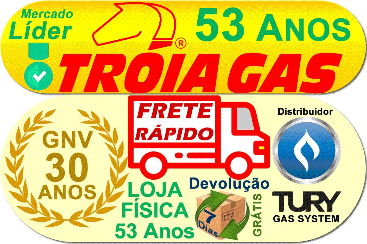 24 Filtros gnv 14 mm TROIAGAS 5ª e 6ª geração protege bicos Landi Renzo Lovato MED