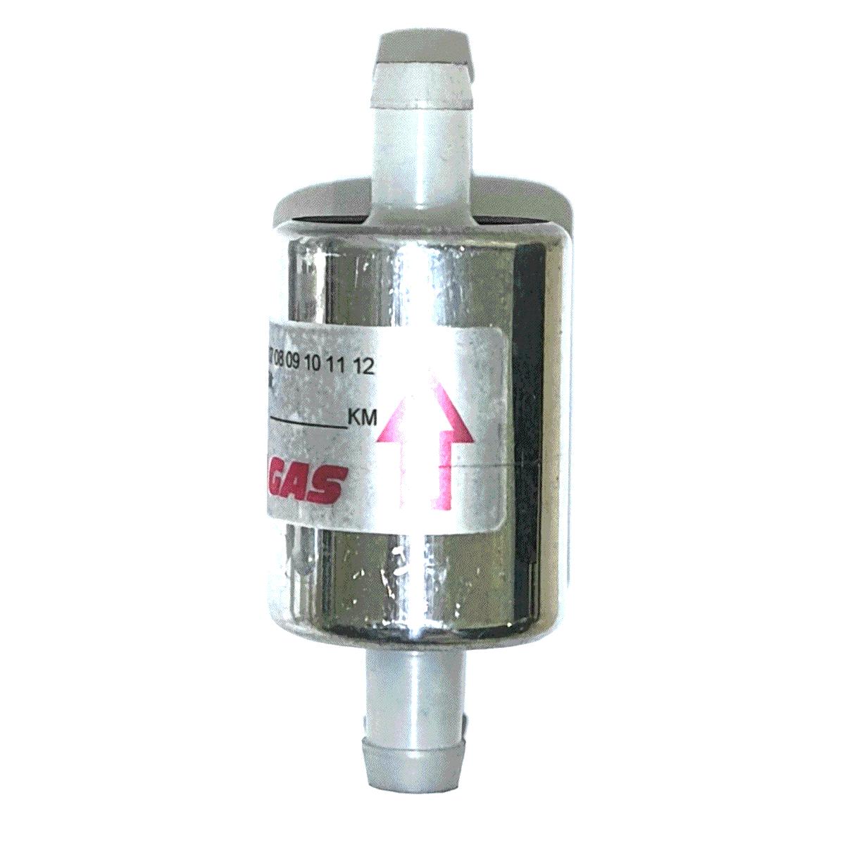 24 Filtros 12mm TROIAGAS 5ª e 6ª geração GNV protege bicos maioria dos kits