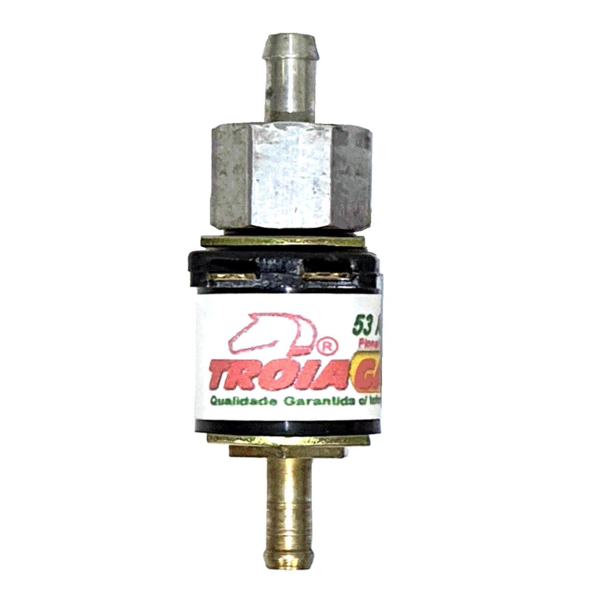 5 Eletroválvulas de Corte de Líquido p/Kit GNV Carburados