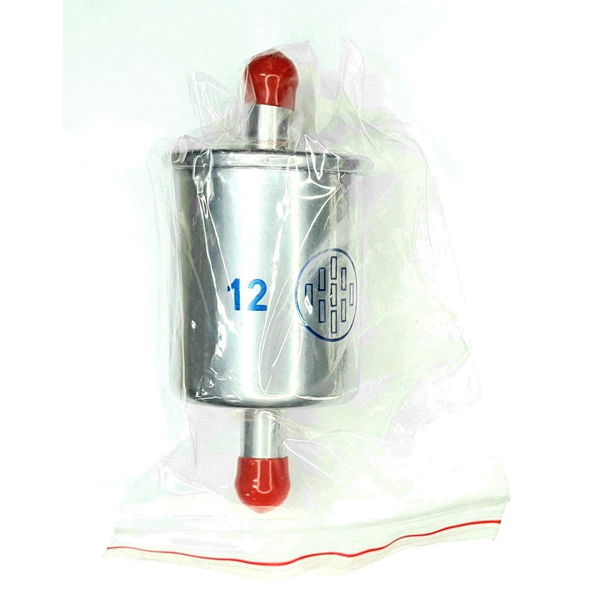 7 Filtros GNV 12 mm TROIAGAS Metal 5ª e 6ª geração protege bicos kits gás