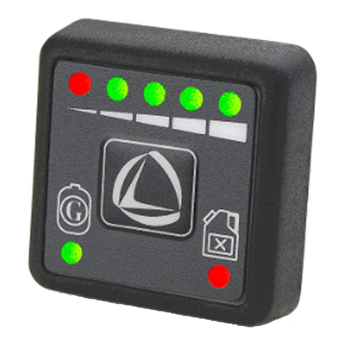 Botão GNV Comutadora Kit 5ª geração Landi Renzo Omegas/EVO