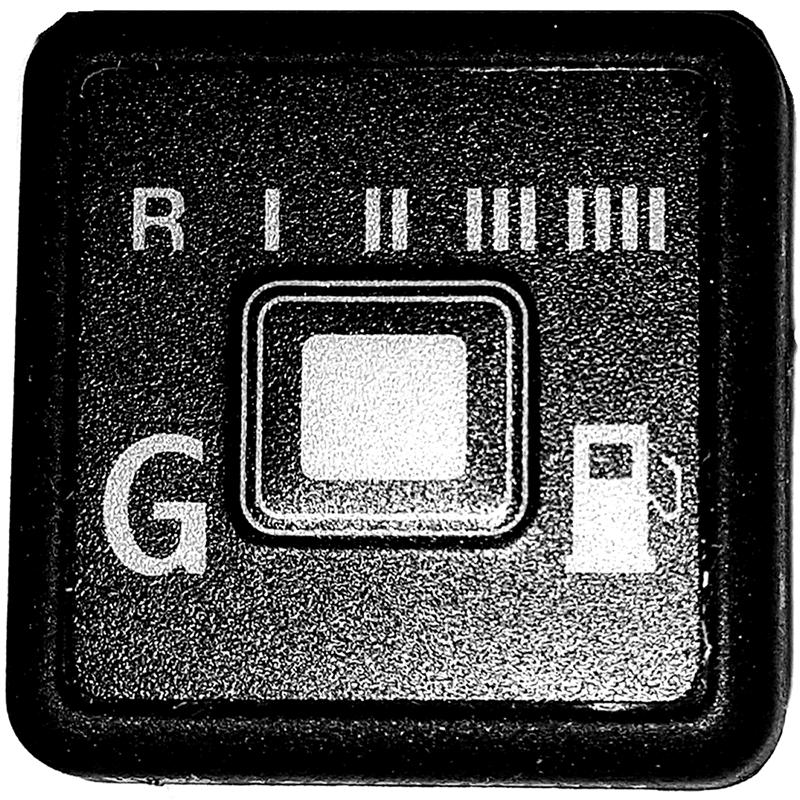 Botão Comutadora GNV Kit 5ª geração Emer Tury Gas