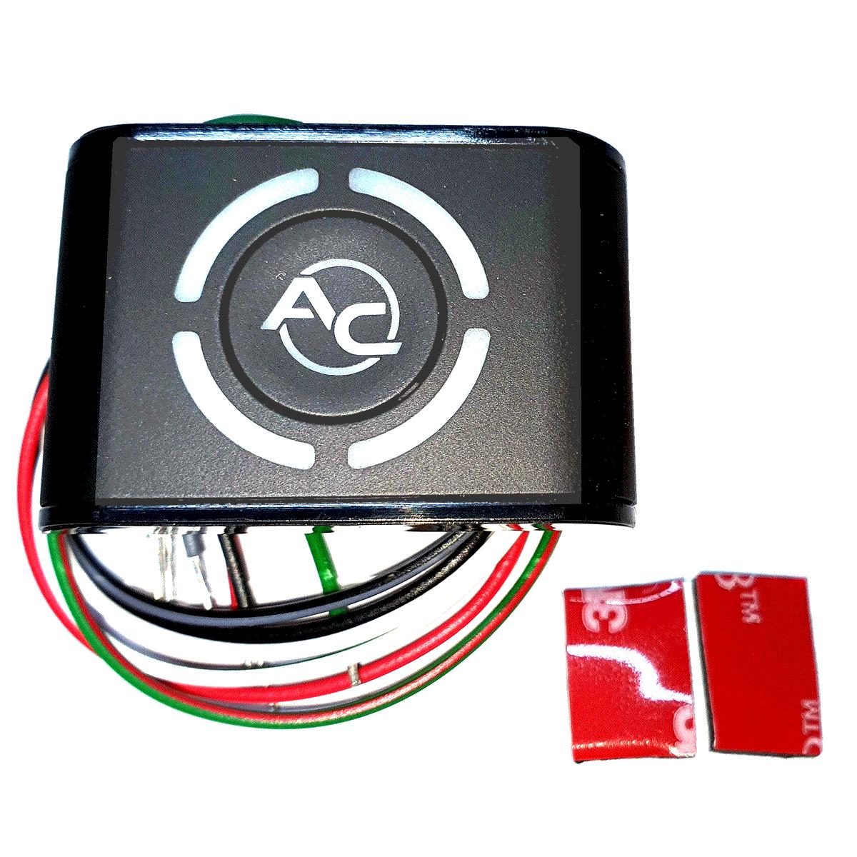 Botão STAG GNV 5ª LED-401B TURY GAS Qbox Basic ou Plus