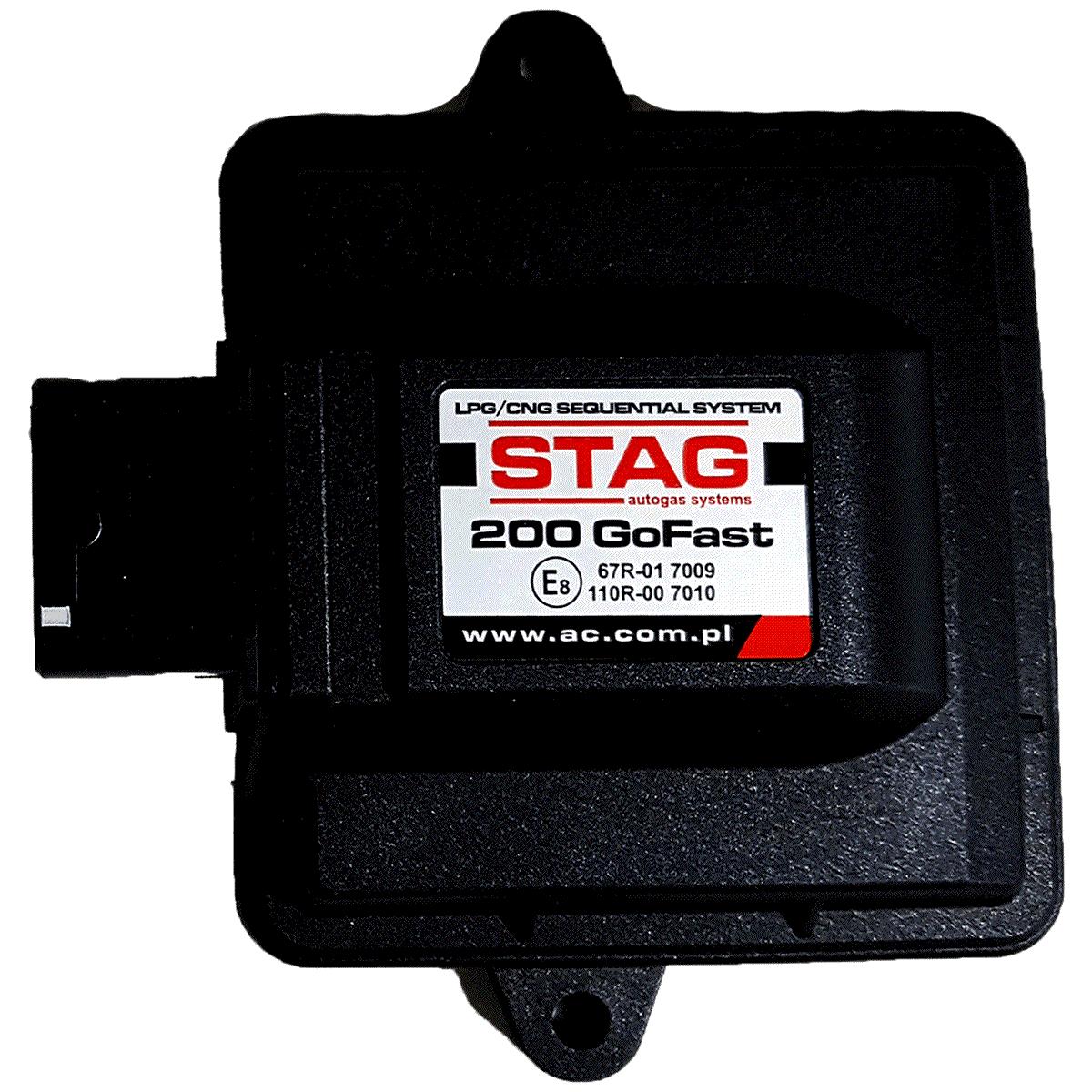 Central 5ª Geração STAG 200 GosFast 4 Somente Módulo ECU TURY GAS