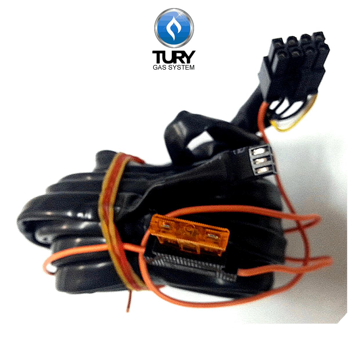 Chicote T1000 A 2m p/Comutadora TURY GAS T1000 T1011 T1015 IGT
