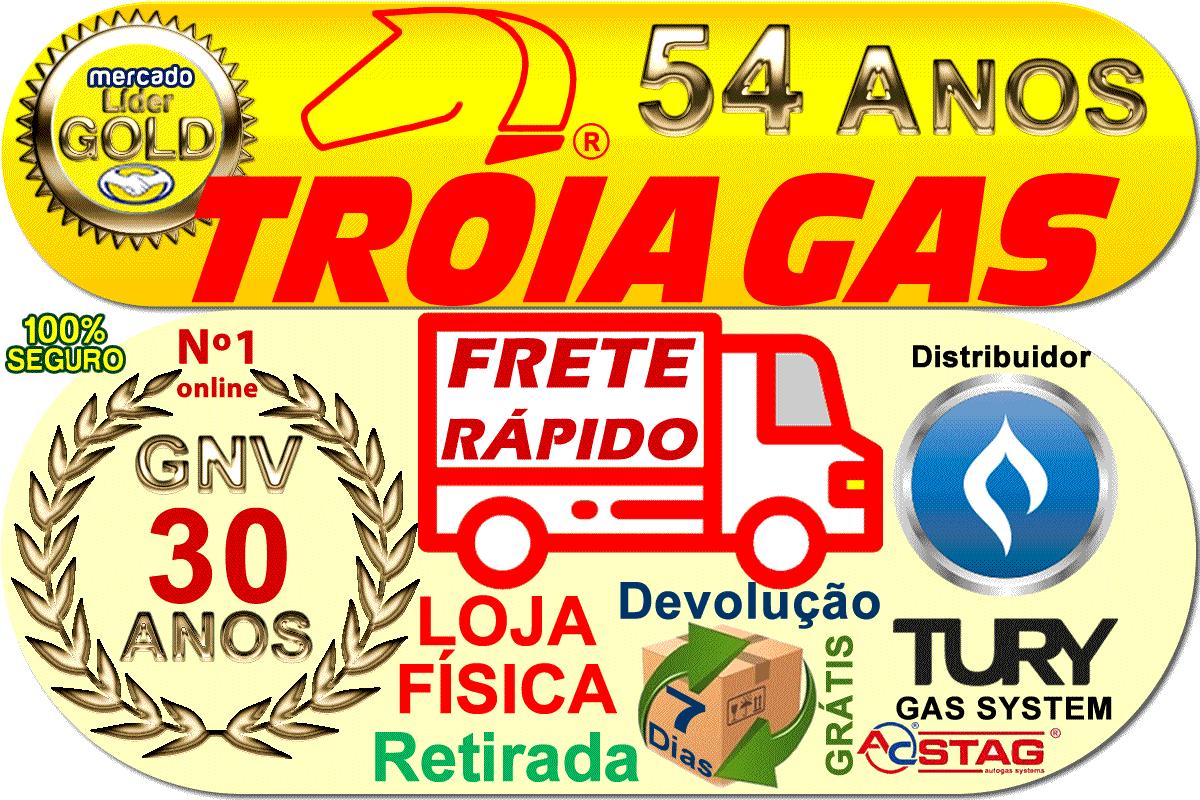 Chicote T1000 B 6m Kombi p/Comutadora TURY GAS T1000 T1011 T1015 IGT