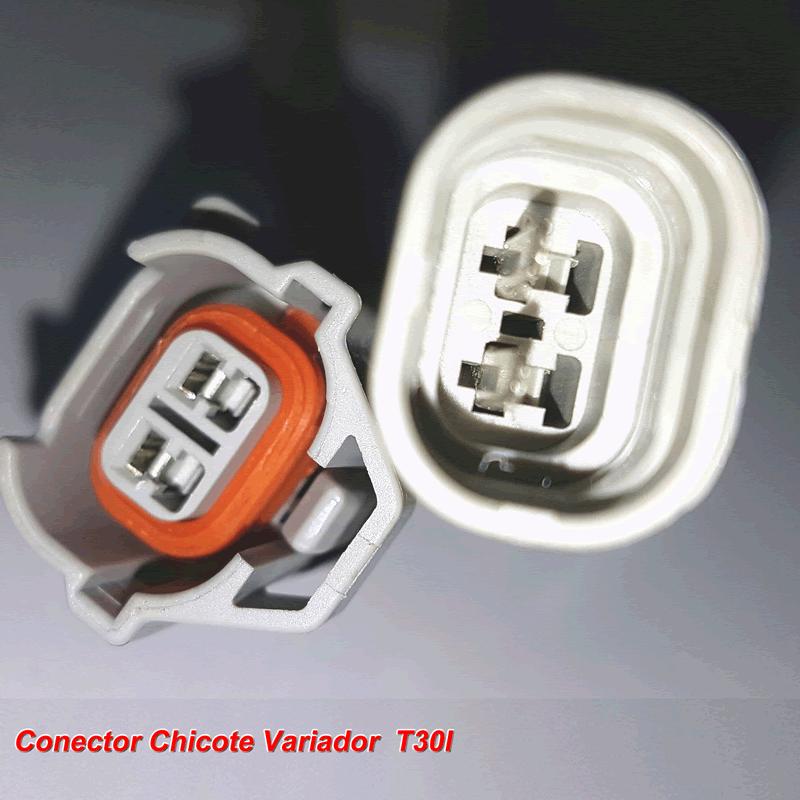 Chicote Variador TURY T30 e compatíveis para Sensor de Rotação a Escolher Conector