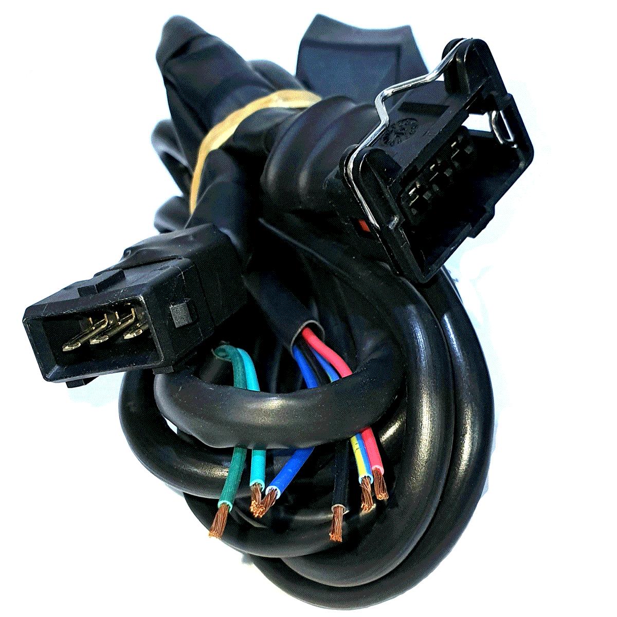 Chicote Variador TURY T30 e compatíveis Sensor Rotação Escolha o Conector