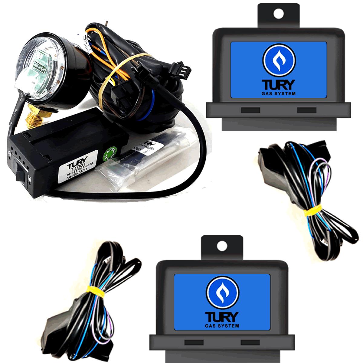 Conjunto GNV Comutadora Emulador Mono Simulador de Sonda Veiculos Ineção