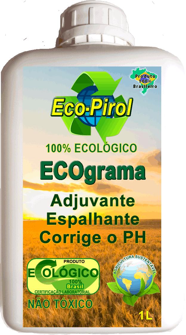 ECOgrama Ecopirol Capinagem Ecológica Corrige PH Enraizador