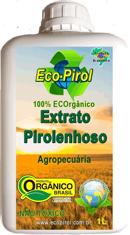 Ecopirol Extrato Pirolenhoso - Corrige PH, Repelente, Enraizador, Quelante, ...