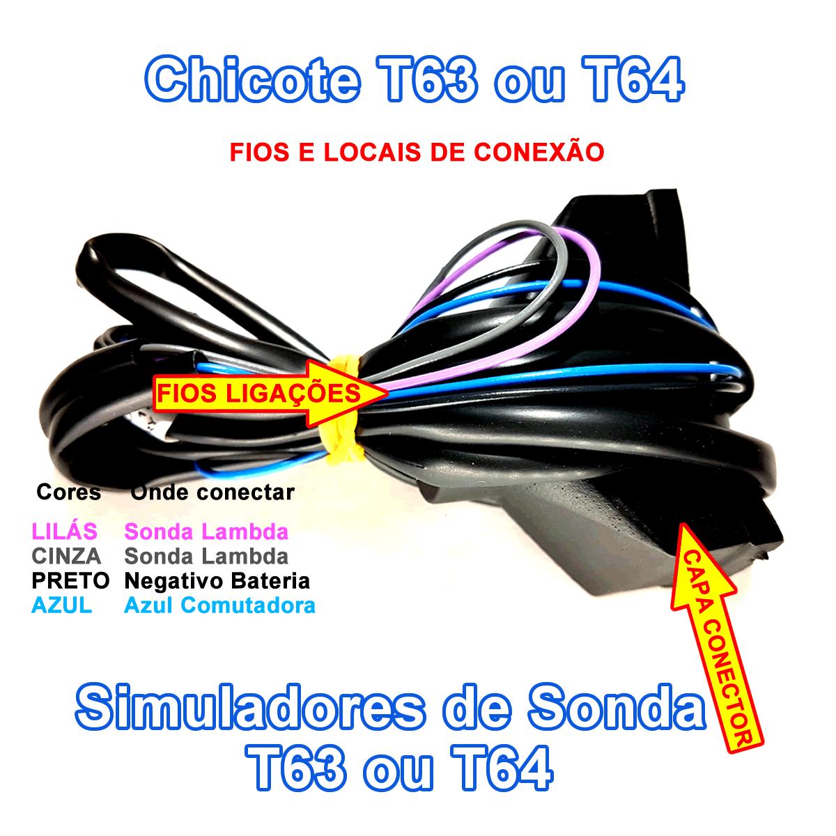 Eletrônicos 6 cilindros 3ª geração T56A 2xT63 T34 Sem Comutadora