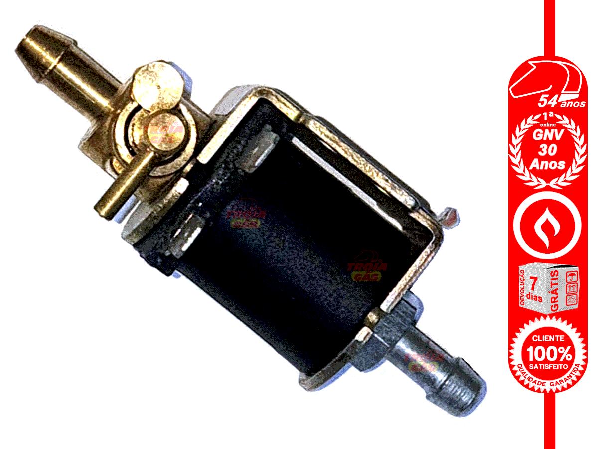 Eletroválvula Veículo Carburado corta o líquido SHIVA Elétrica e Manual