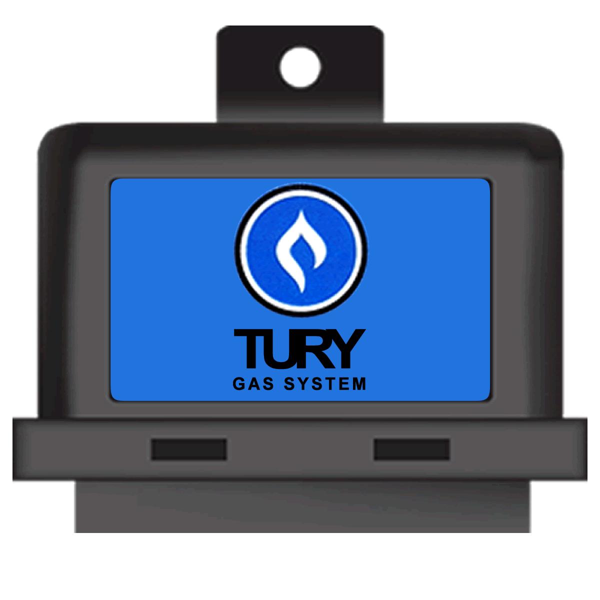 Emulador de 4 Bicos T54A e Simulador de Sonda T64 Regulável TURY GAS