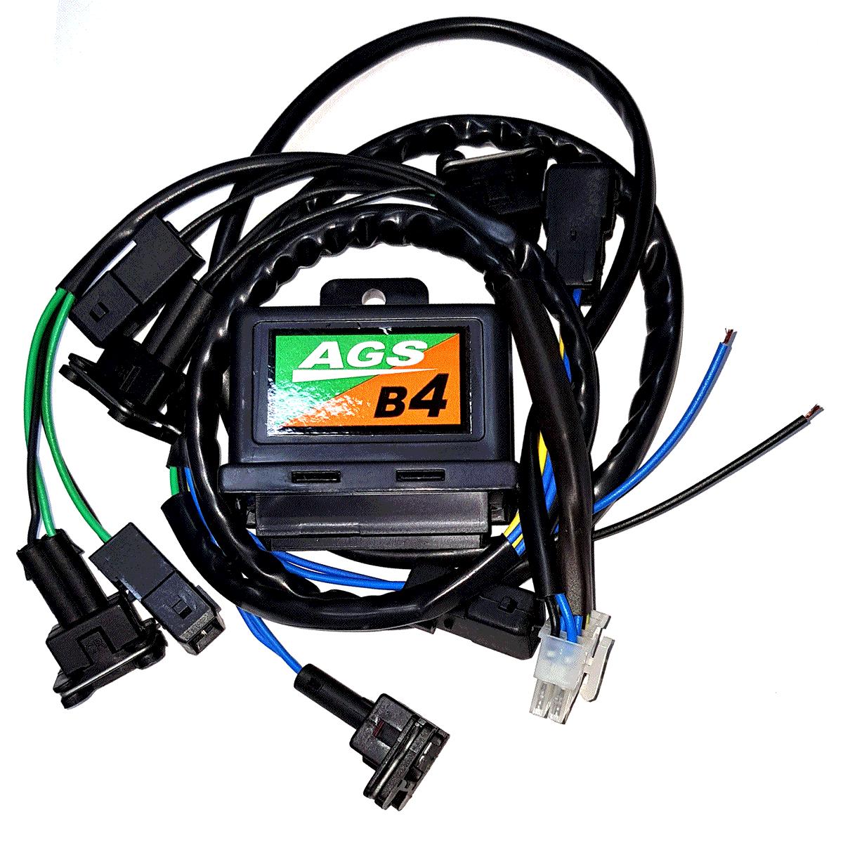 Emulador de 4 Bicos Injetores c/Chicote AGS B4 GAS