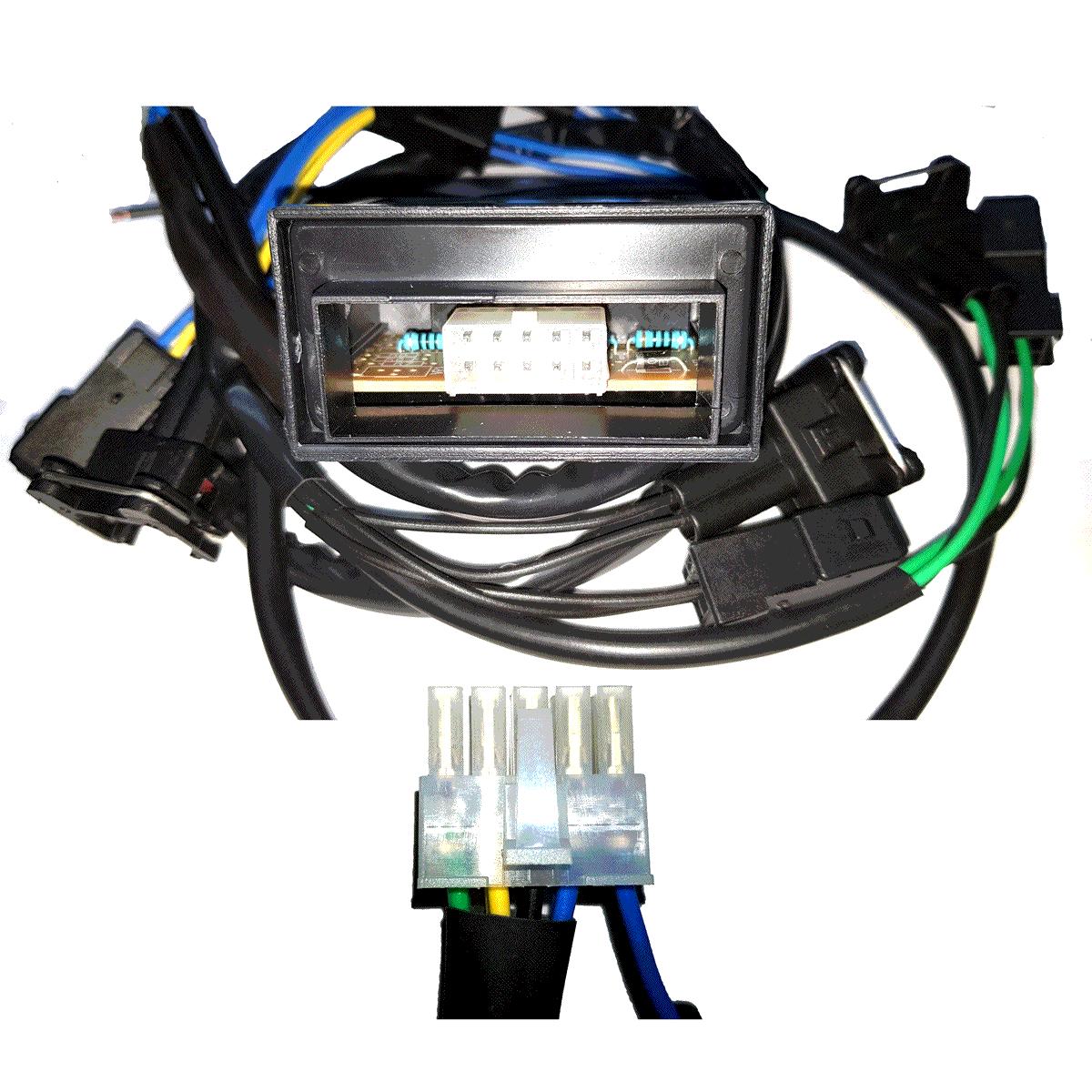 Simulador de 4 Bicos Injetores c/Chicote GTEC