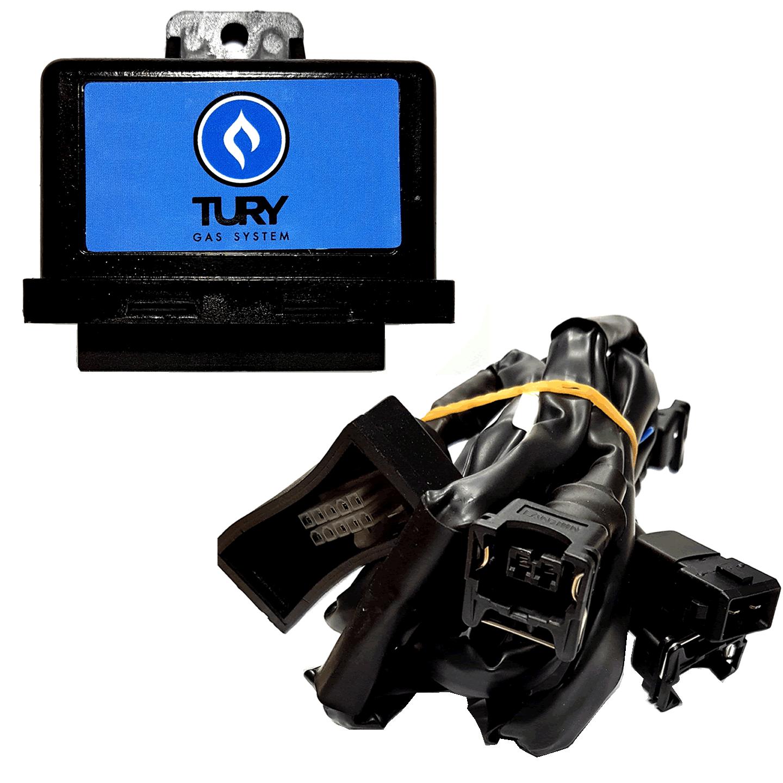 Emulador de 6 Bicos Injetores T56 A c/Chicote TURY GAS