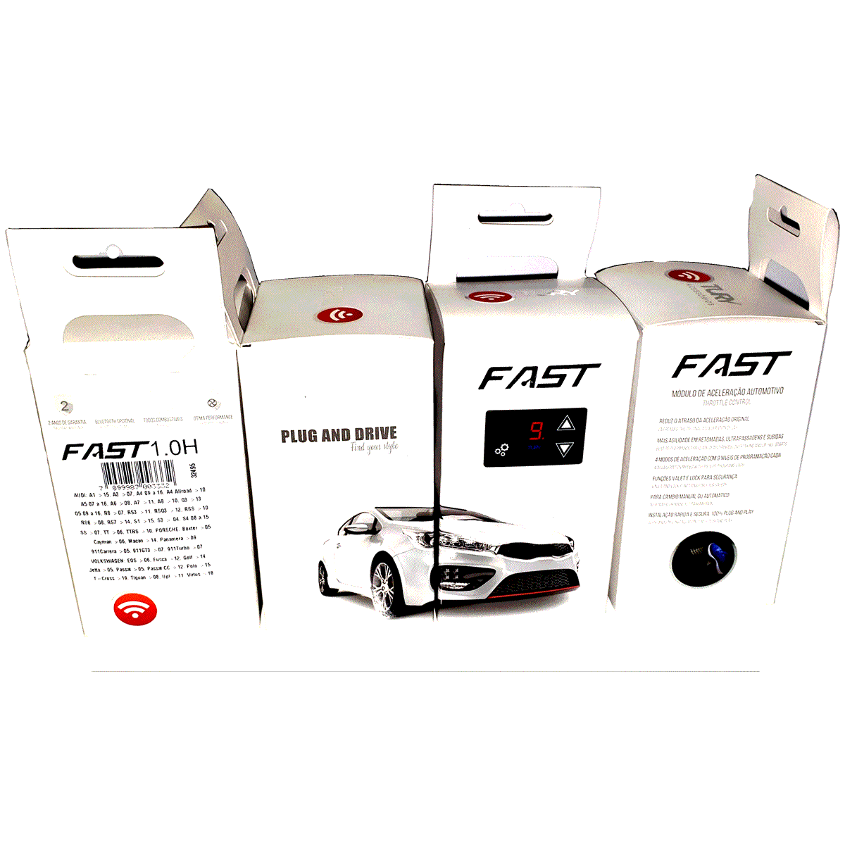 Fast 1.0 AE Kia Cerato Módulo Acelerador Plug & Play