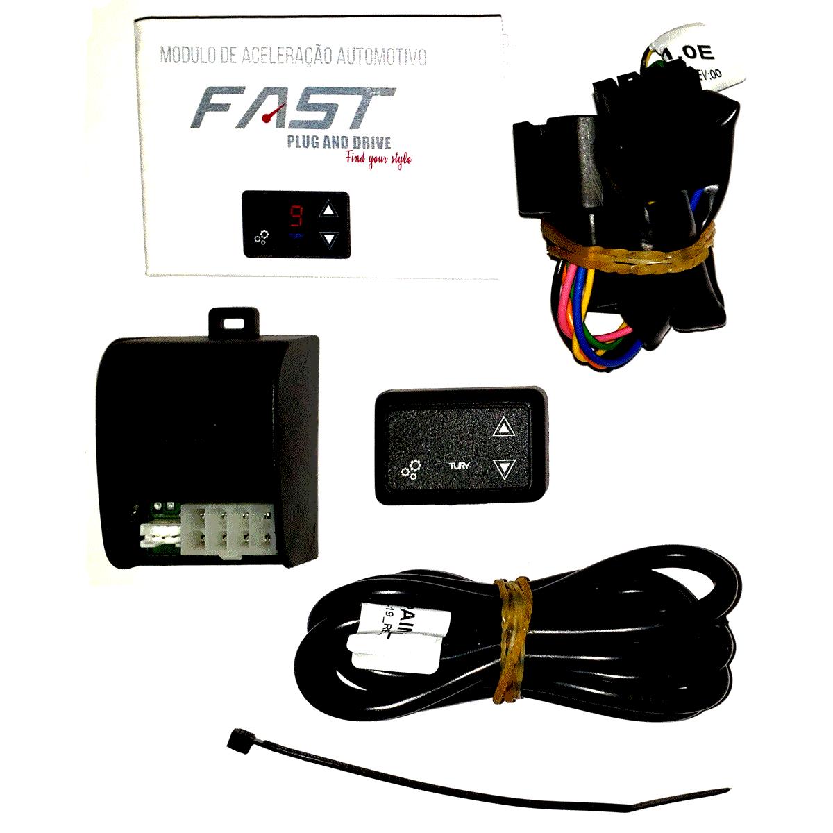 Fast E Honda Módulo Acelerador Eletrônico Conector Plug & Play